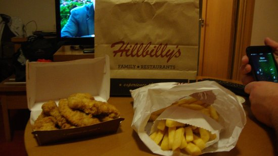 Hillbilly's fried chicken