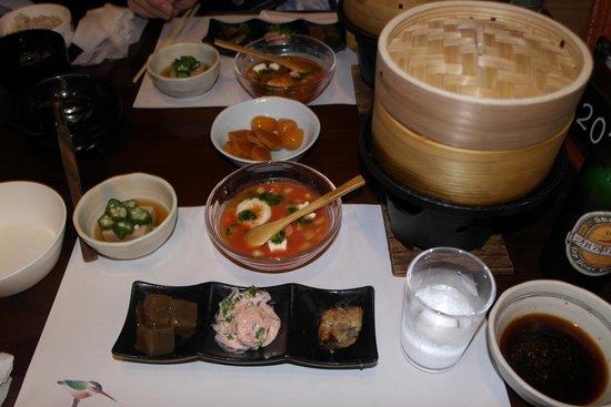 Tonosawa Ichinoyu Shinkan : Meal in Ryokan