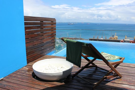 Aram Yami Hotel: Pool - tiny but charming with a great view