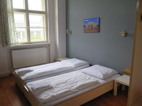 A&O Leipzig Hauptbahnhof: Very basic room