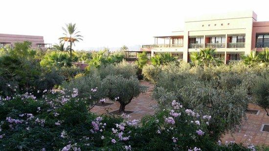 Hotel Du Golf : Desde la terraza