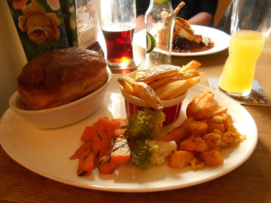 Carpenter's Arms: lunch at carpenters arms