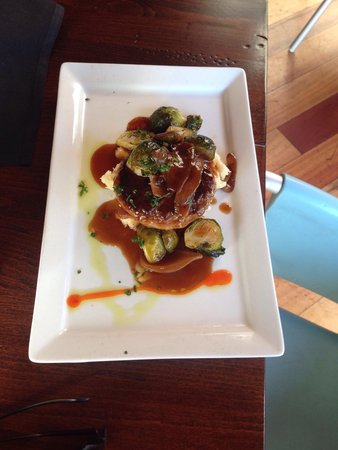 Stoney Knob Cafe: Hamburger steak