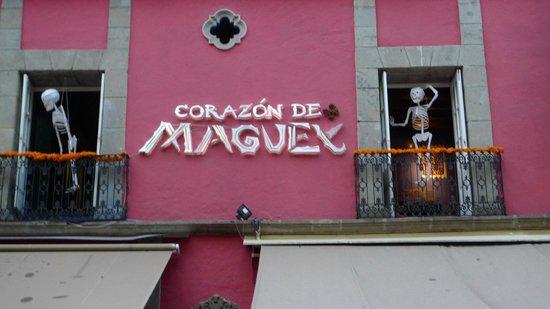 Corazon De Maguey: Facade 1