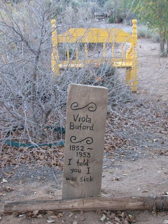 """Corrales, NM: """"Cemetery"""" on the property"""