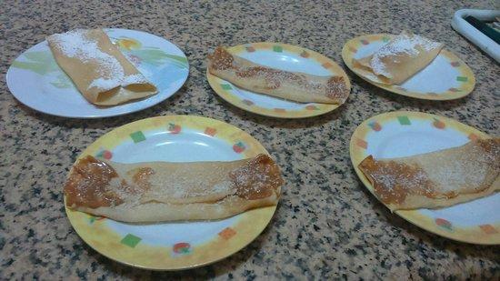Hostel Empedrado: Deliciosos Panqueques