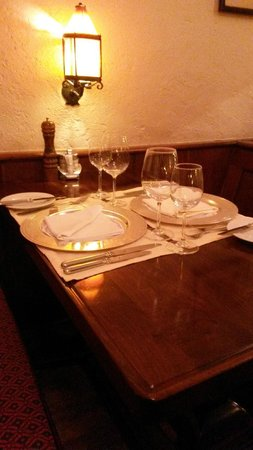 Walliser Kanne : our table for two