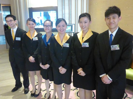 The T Hotel : Front desk team at T Hotel