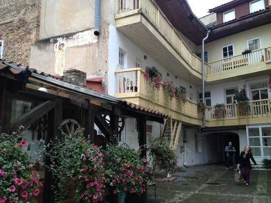 Old Vilnius Apartments: Room's entering area