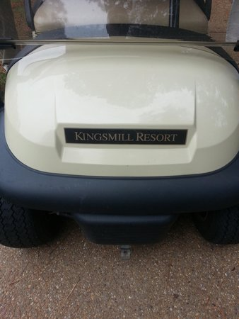 Kingsmill Resort : Get your clubs and one of these.
