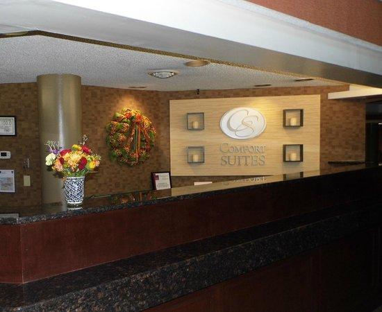Comfort Suites Raleigh Durham Airport/RTP: Front Desk