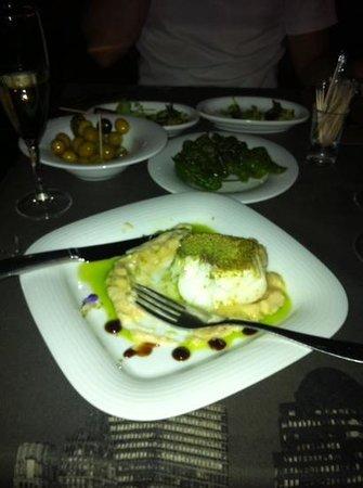My Way : grilled fish and turnip puree