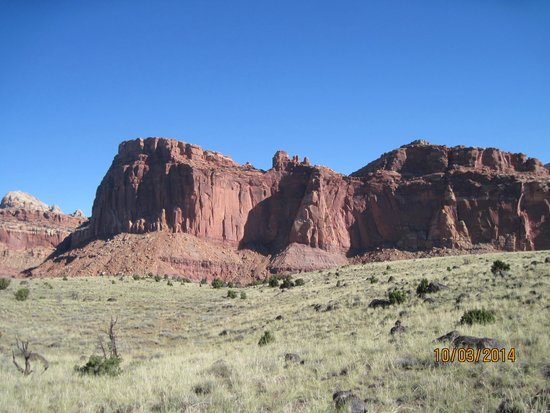 Capitol Reef National Park, UT: The Waterpocket Fold