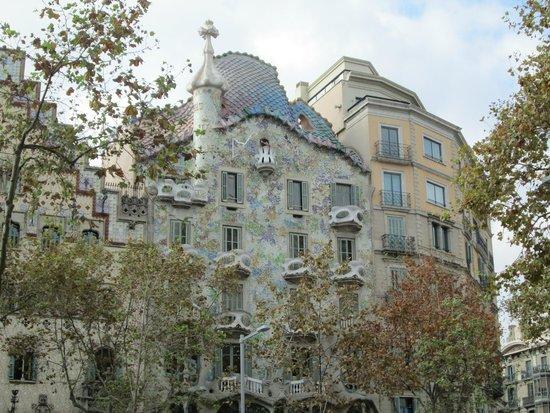 Interno scale picture of casa batllo barcelona - Scale interno casa ...