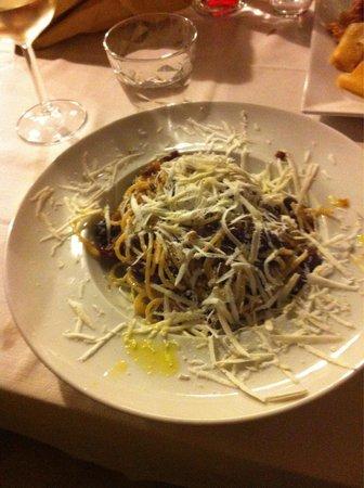Trattoria Santa Maria: Spaghetti alla siciliana