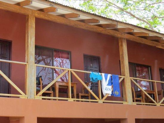Cabinas Diversion Tropical: von aussen