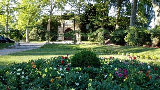 El castillo dentro del jard n del pr ncipe fotograf a de for El jardin del principe