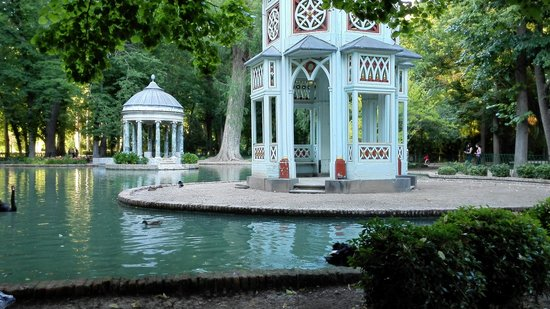 Aranjuez, Spanien: Beautiful pond