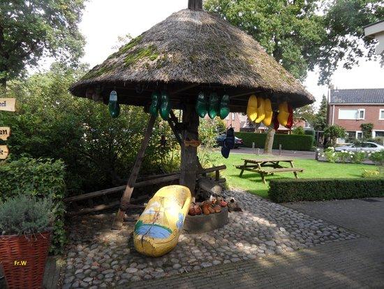 Luttenberg, Niederlande: De klompenmaker , een klein museumpje .