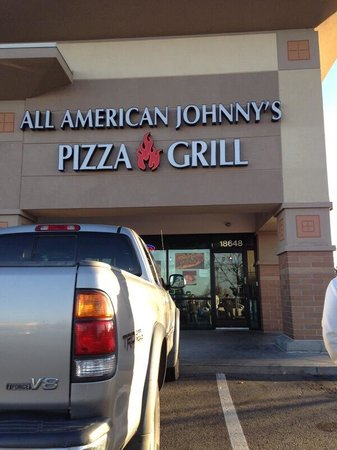 All American Johnny's Pizza: Looking forward to the selections!!