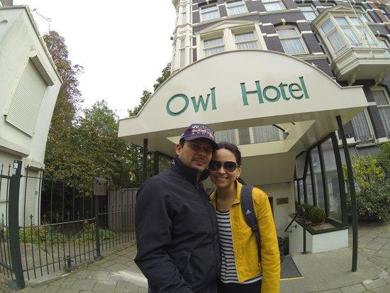 Owl Hotel: Fachada