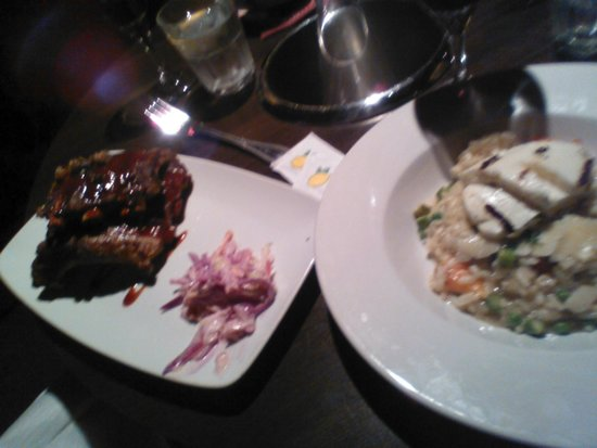 PANAM Restaurant And Bar: ribs and risotto  starters