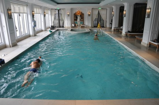 Indoor Heated Swimming Pool Picture Of Intercontinental Amstel Amsterdam Tripadvisor
