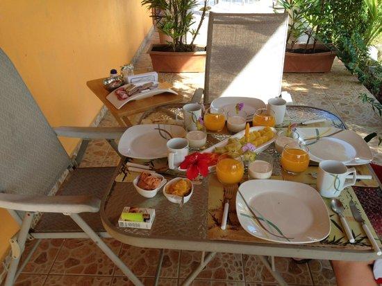 Finca Buena Vista: Breakfast