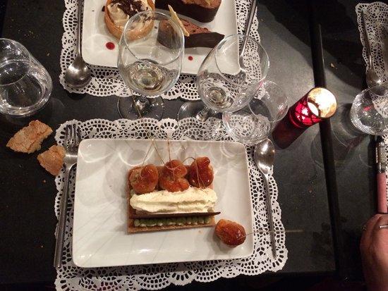 Bon thé Bonheur : Saint honoré pistache