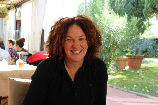 La Bussola da Gino Ristorante & Locanda: Charming Hostess Franca