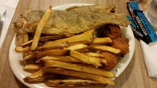 The Deer Lodge: Rainbow Trout and fries