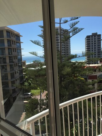 Surf Parade Resort: View from bedroom