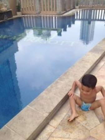 JW Marriott Hotel Jakarta: Cold water