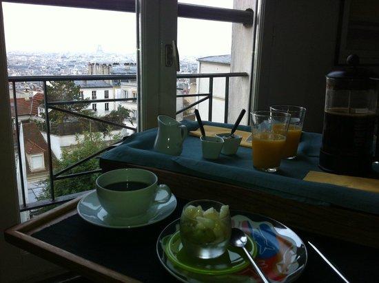 Une Chambre a Montmartre: morgenhygge