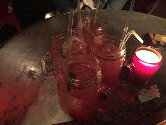 Revolution: Cranberry Fizz Cocktail