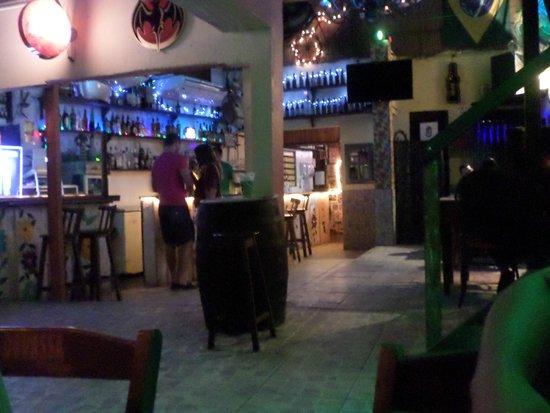 Birosca da Cachaca : Área do bar