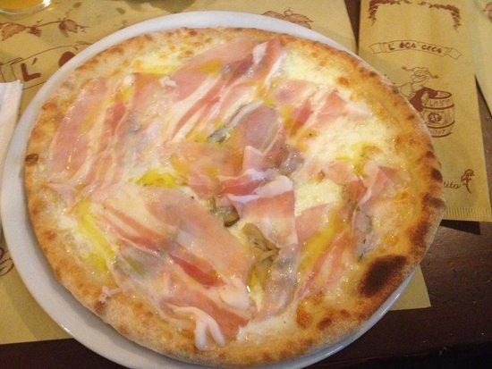 Oca Ceca: Porcini, lardo, olio di tartufo