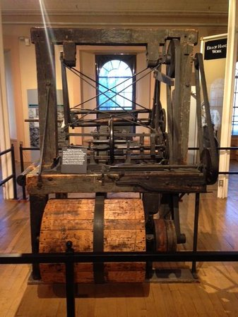 Springfield Armory National Historic Site: Original Blanchard Lathe