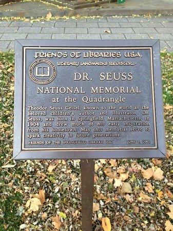 Dr Seuss National Memorial Sculpture Garden Picture Of Dr Seuss National Memorial Sculpture