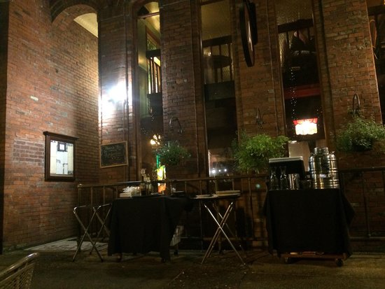 Ambrosia Restaurant & Bar: The view from the patio.
