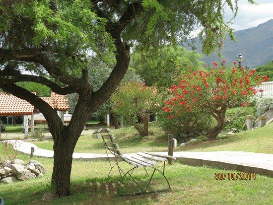 El Cortijo Apart-Hotel & Spa: El lugar ideal para sentarse a tomar mate y disfrutar de la paz