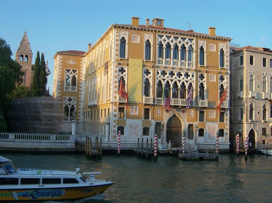 Hotel Galleria: View from our window on Grand Canal