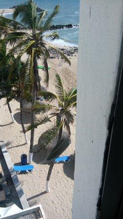 Oceano Palace: muy bonita playa.