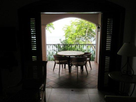 Cap Estate, Saint Lucia: 1st floor living room/balcony
