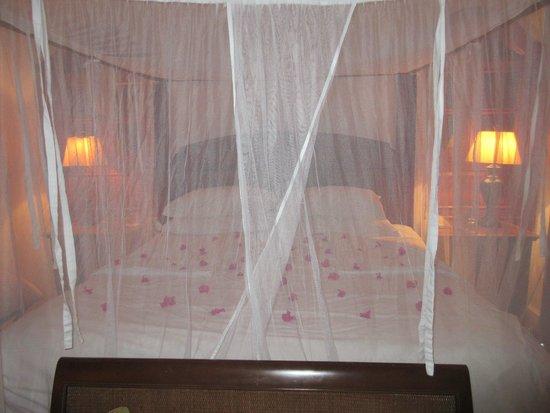 Cap Estate, Saint Lucia: bedroom with turndown service
