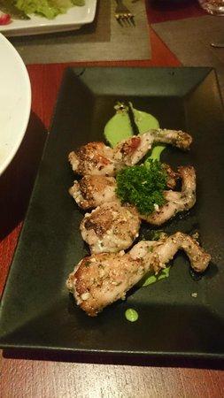 Paris Bangkok Restaurant Frog Legs