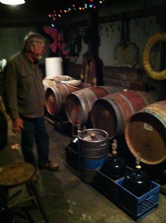 Relais du Soleil: Tim's wine