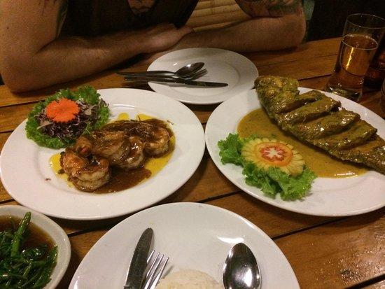 L. Maladee Restaurant: Unsere Gerichte waren perfekt!