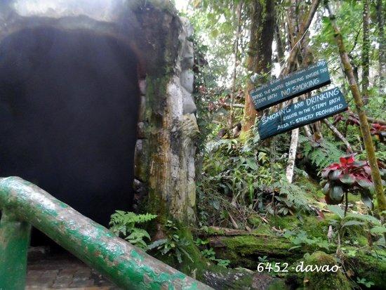Lake Agco: natural steam bath