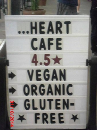 Meals From The Heart Cafe: Look Out For This Signboard
